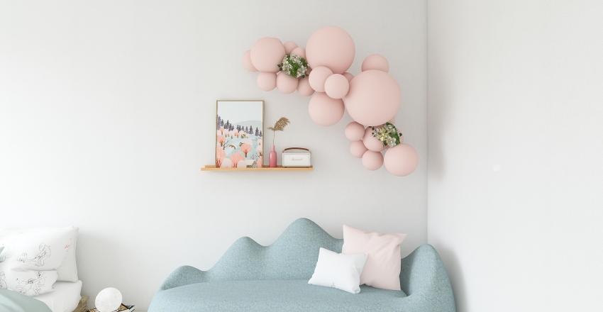 Random Pastel Spaces Interior Design Render