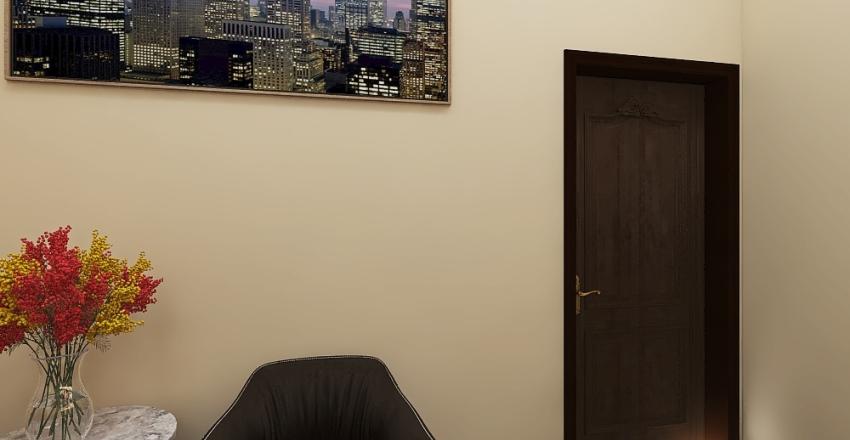holly family office Interior Design Render