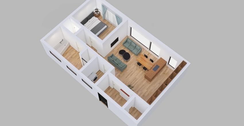 Byt V Fialove 23 Interior Design Render