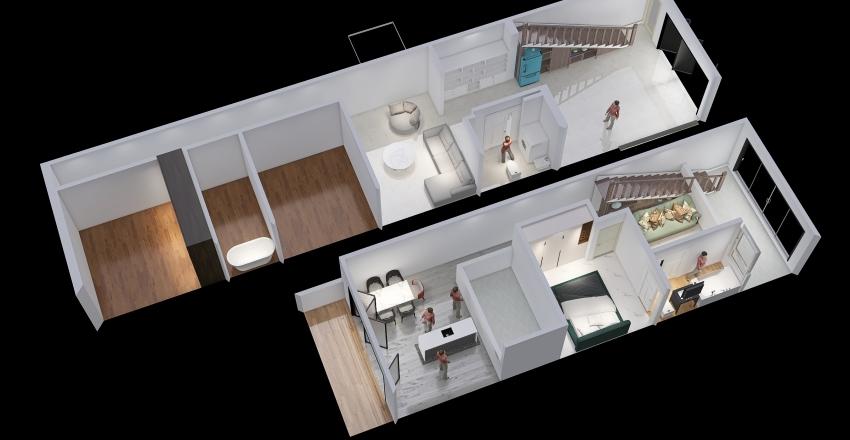 Less of Dream2 Interior Design Render