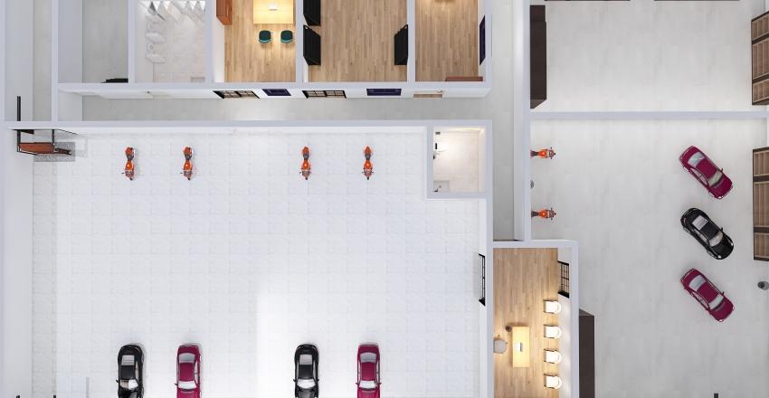 João Victor Prado da Cruz Arranjo Físico P1 2020-2 Interior Design Render