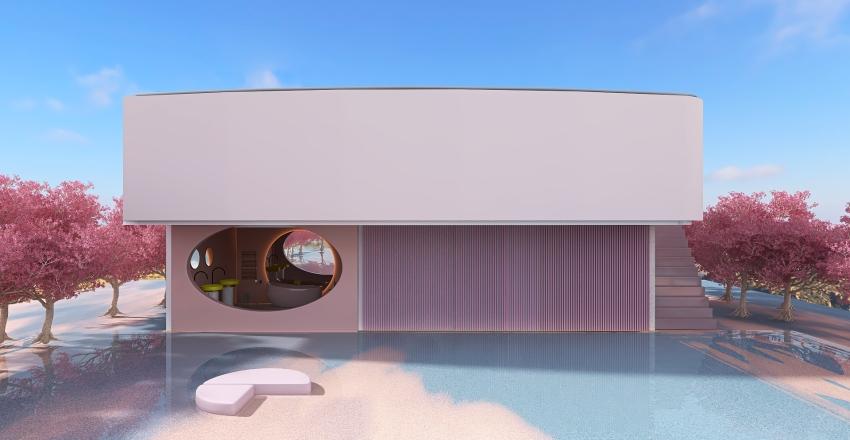 Modern fairytale Interior Design Render