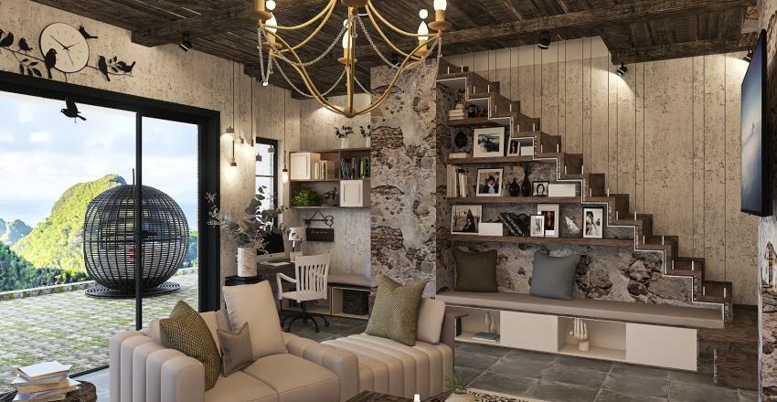 Мой дом)) Interior Design Render