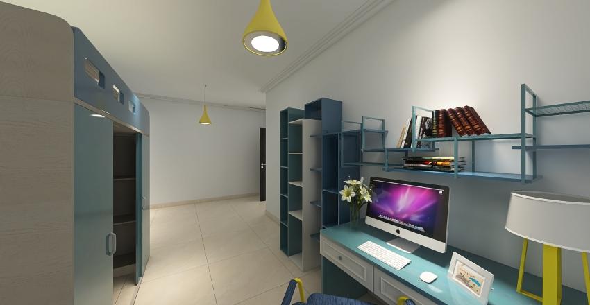 Corte interna Interior Design Render