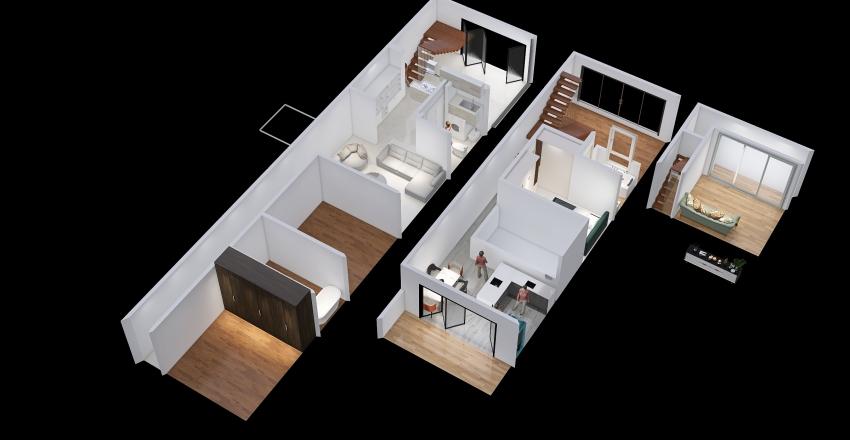 Less of Dream3 Interior Design Render