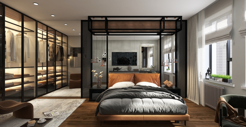 Двушка + Interior Design Render