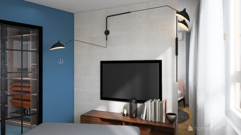 тАЙГА крутая гардеробная Interior Design Render