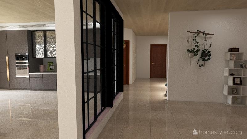 Apto para Couples Interior Design Render