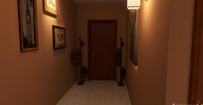 interior casa 50m2 Interior Design Render