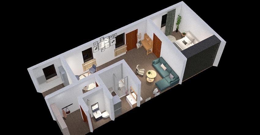 Copy of Vinične 2 izbový Interior Design Render