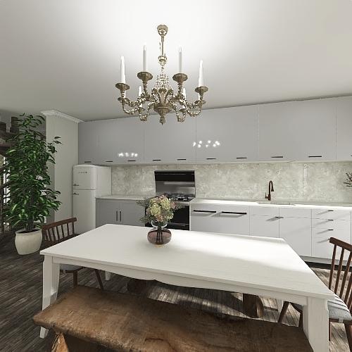 georgian Interior Design Render