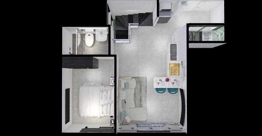 Ámbar - Dúplex 2 - Tipo1 Interior Design Render