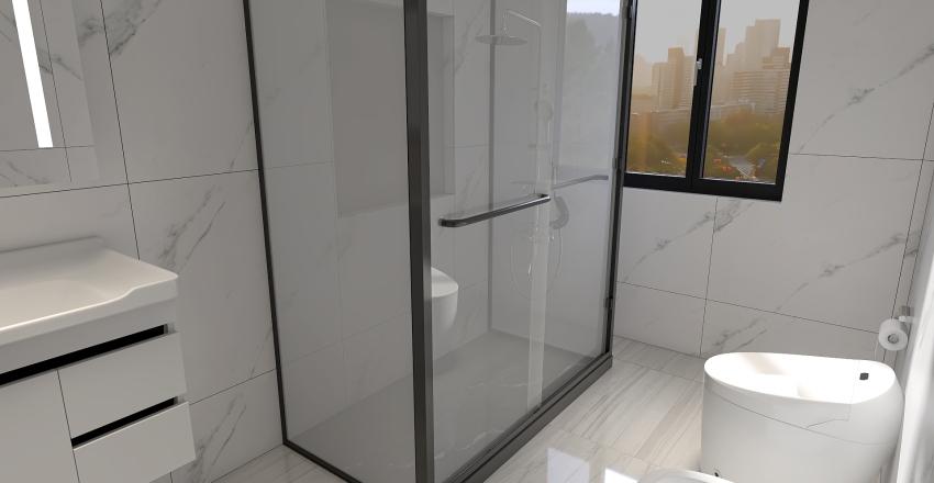 v2_abitazione a newyork Interior Design Render