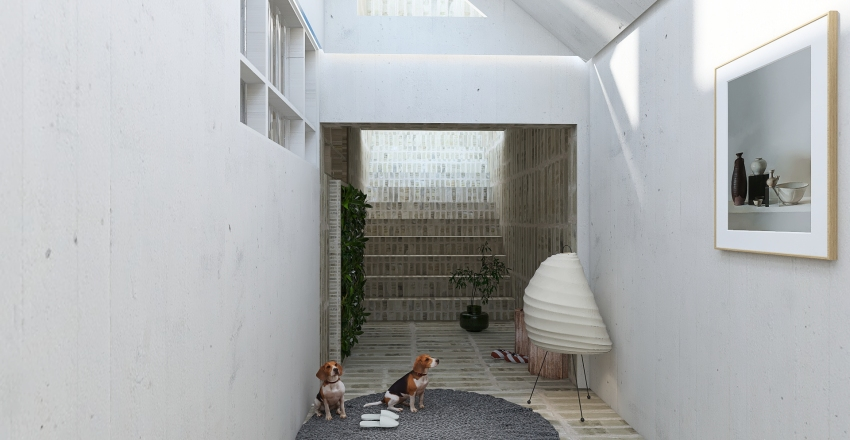 No doors Interior Design Render
