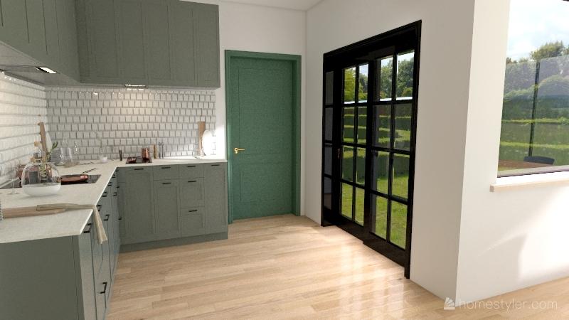 Dnevna_soba_Zmaj_Jovina Interior Design Render