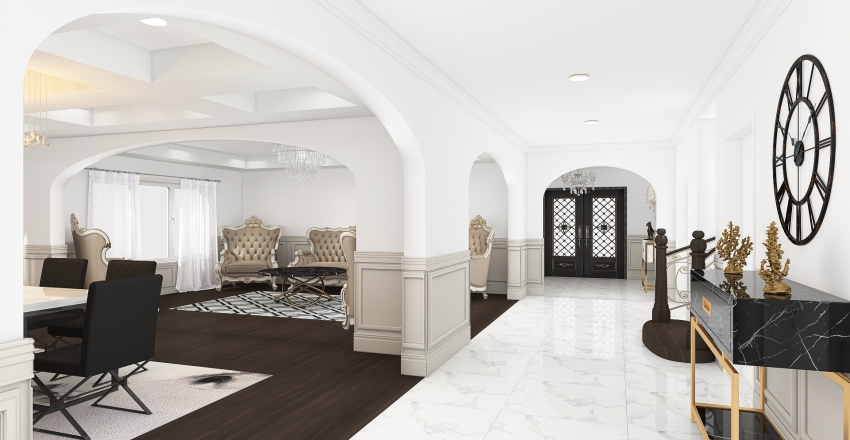 Vaughan House Interior Design Render