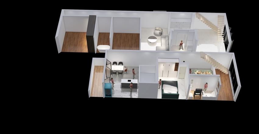 Less of Dream1-1 Interior Design Render
