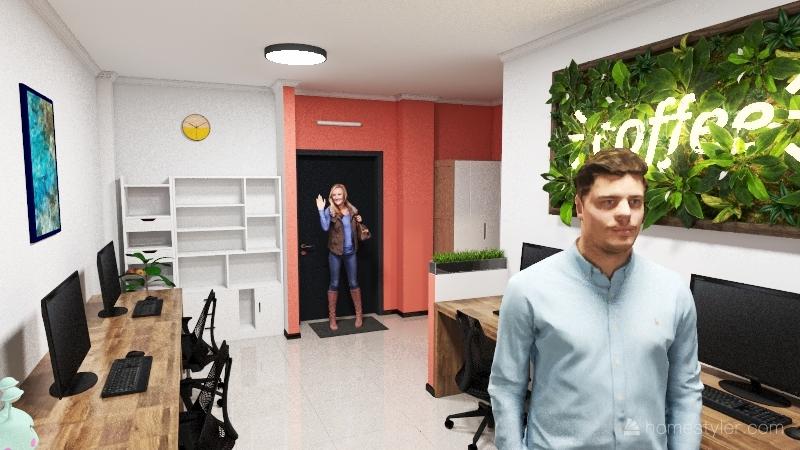 TEST HOME Interior Design Render