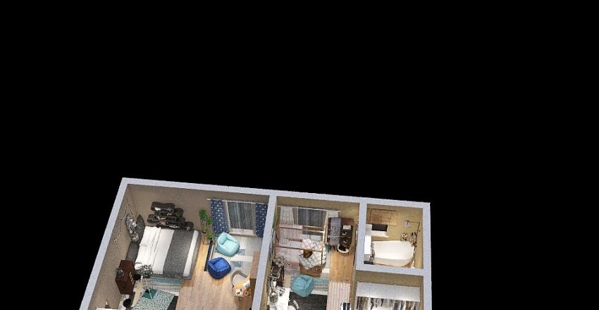 Hà My Interior Design Render