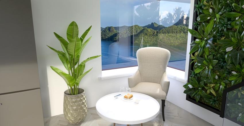 tiny house in paradise Interior Design Render