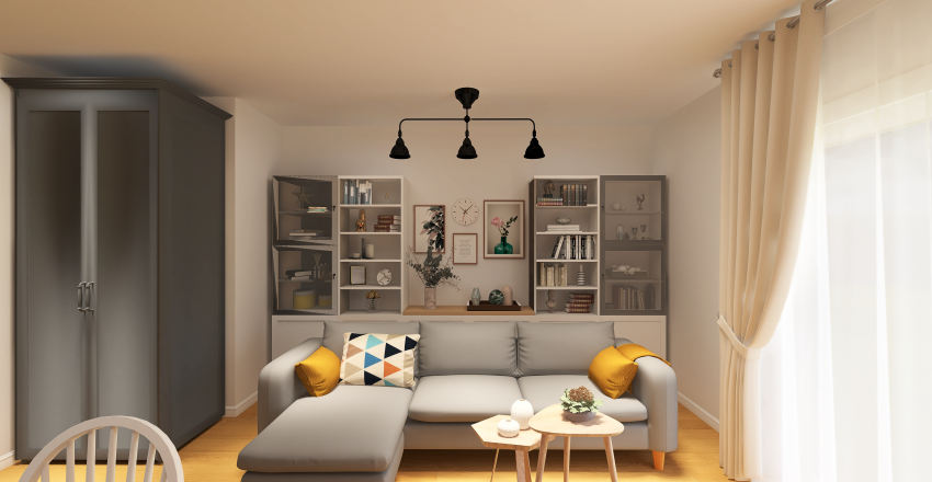 Open space _Timisoara Interior Design Render