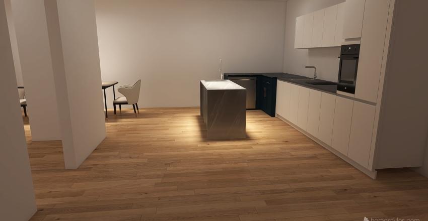 rooms Interior Design Render