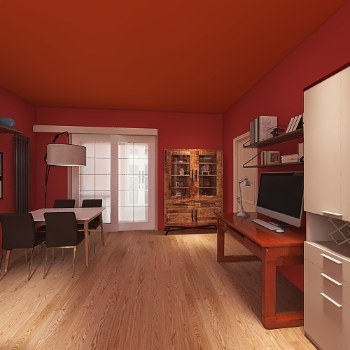 Monolocale 13 Interior Design Render