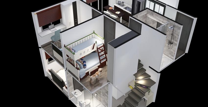 Copy of ambar_Duplex4 Interior Design Render