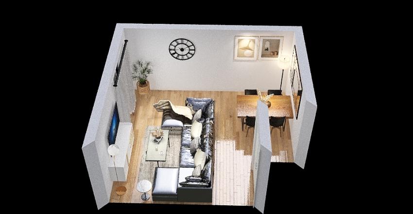 salon version 2 Interior Design Render