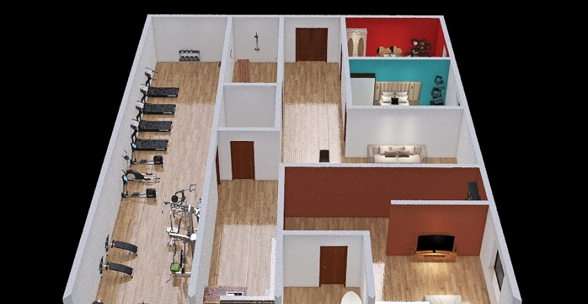 Copy of bao anh house Interior Design Render