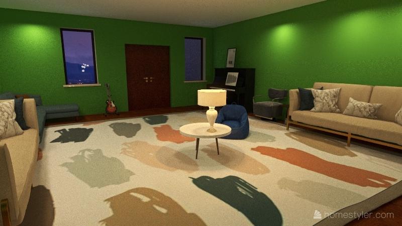 dream house3 Interior Design Render
