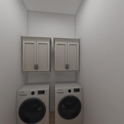 One bed, One bath Interior Design Render