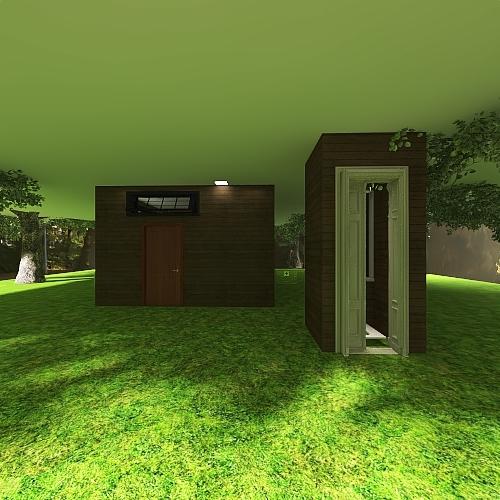 Casa al Amazones Interior Design Render