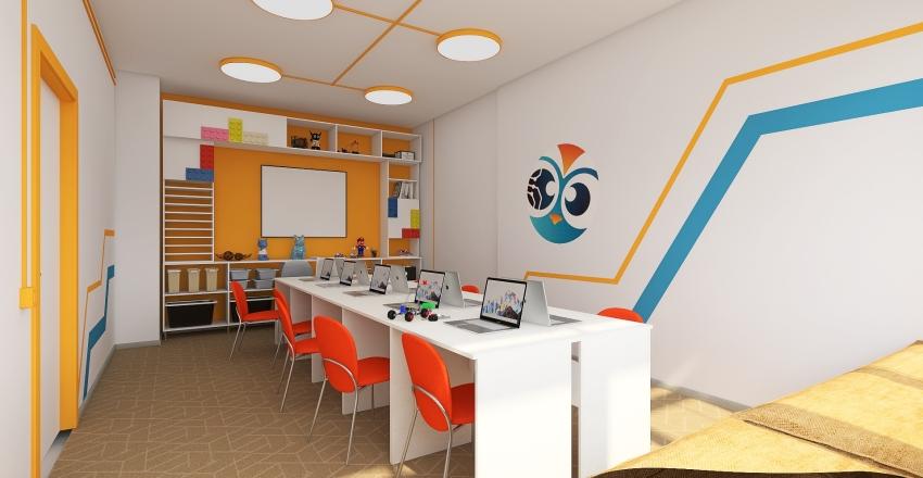 Клуб робототехники Interior Design Render