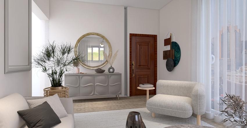 Modern SabiLiving  Interior Design Render