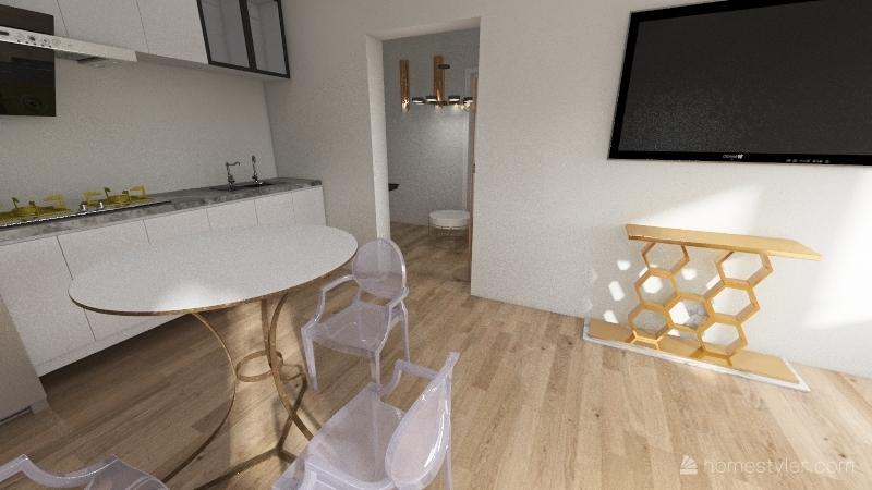 mieszkanie wisła Interior Design Render