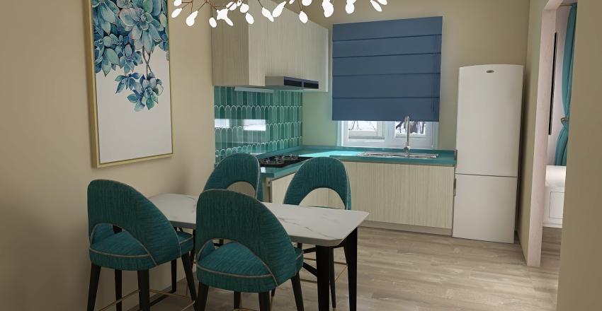 flat Tatyana ver5 Interior Design Render