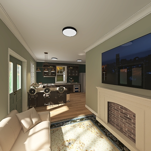 NEW FRANCES HOUSE Interior Design Render