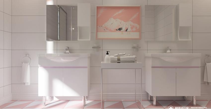 sakura Interior Design Render
