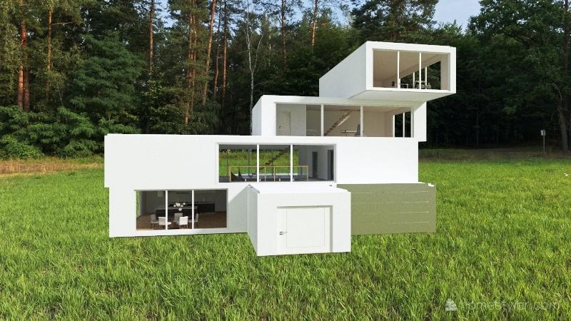 Mi casa del futuro Interior Design Render