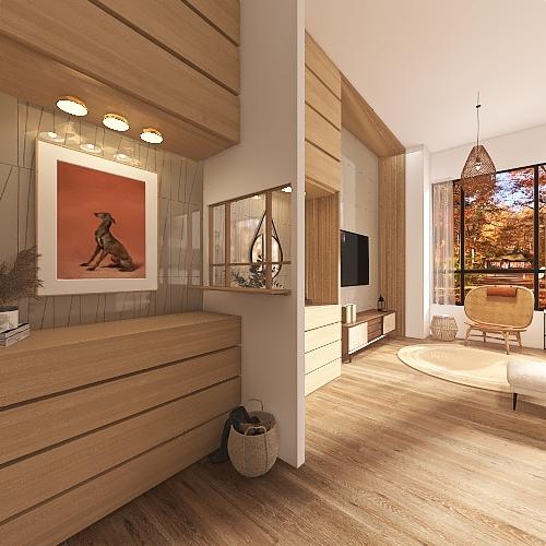 0705 更新 無閣樓 Interior Design Render