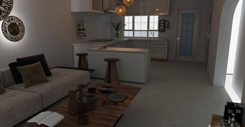 Isla Plana Prima Interior Design Render
