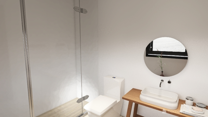 Kitnet dos sonhos Interior Design Render