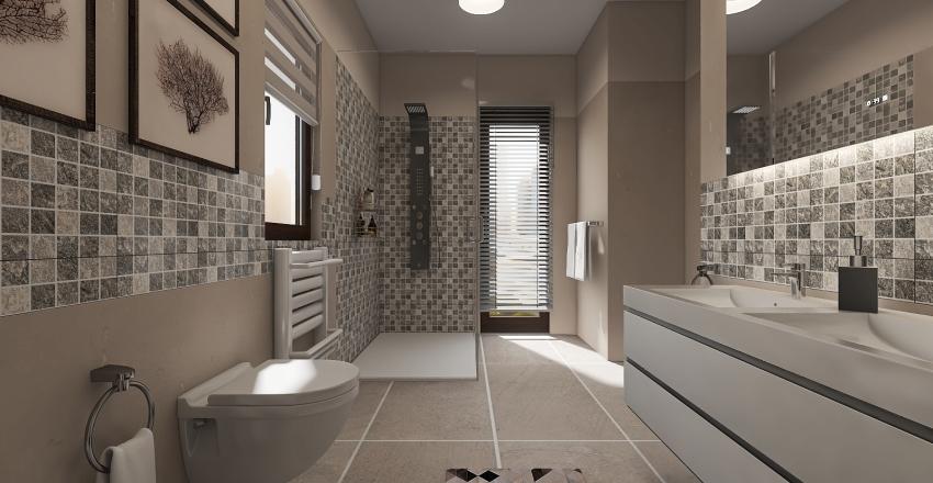 progetto bagno Interior Design Render