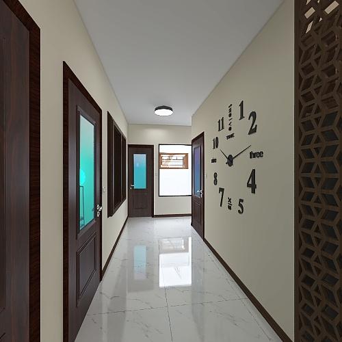 Planta casa 2 andares Interior Design Render