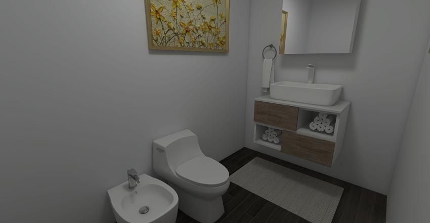 cute condo Interior Design Render