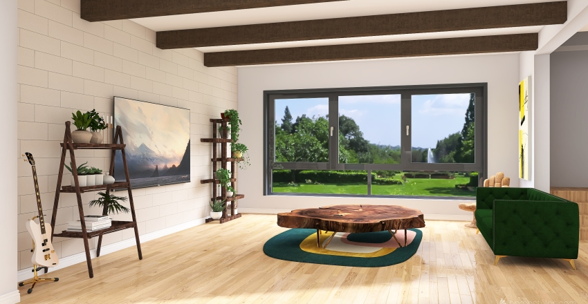 Tranquil Interior Design Render