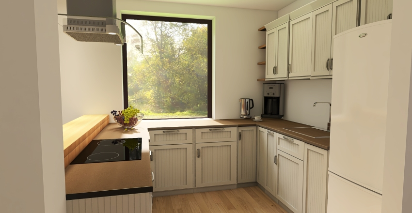 Domek 130421 Interior Design Render