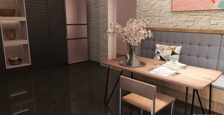 Sakura Zen Interior Design Render
