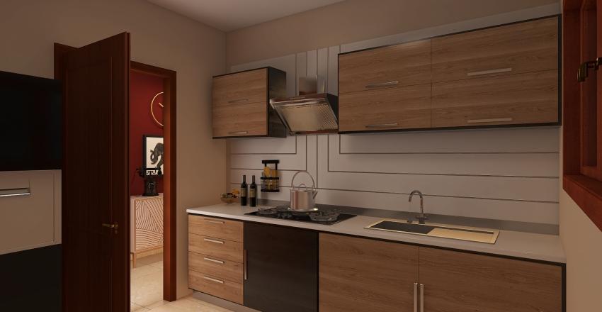 Haluk bey Büyükada Interior Design Render